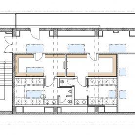 Bild Umkleidebereiche Trainingshallenkomplex