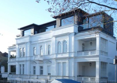 Aufstockung Villa am Wannsee, Kolonie Ahlsen