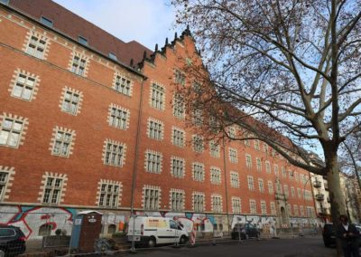 Sanierungsmaßnahmen im Denkmal – Ferdinand Freiligrath Schule